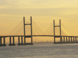 Second Severn Bridge, Avon, England, United Kingdom, Europe Photographic Print by Rainford Roy