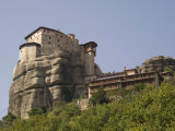Roussanou Monastery, Meteora, UNESCO World Heritage Site, Thessaly, Greece, Europe Photographic Print by Richardson Rolf