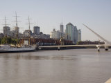 View Towards City Centre from Puerto Madero, Buenos Aires, Argentina, South America Photographic Print by Richardson Rolf