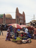 Street Scene, Bamako, Mali, West Africa, Africa Photographic Print by Pate Jenny