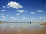 Beach at Cotes D'Argent in Gironde, Aquitaine, France, Europe Photographic Print by Hughes David