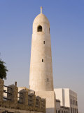 Minaret in Souq Waqif, a Restored Souq of Mud Rendered Buildings, Doha, Qatar, Middle East Photographic Print by Gavin Hellier