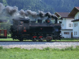 Steam Train, Ziller Valley, the Tirol, Austria, Europe Photographic Print by Gavin Hellier