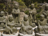 Selection from an Army of 500 Similar Small Buddhas at Daishoin Temple, Miyajima, Japan Photographic Print by Richardson Rolf