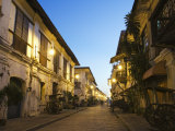 Spanish Old Town, Vigan City, Ilocos Province, Luzon Island, Philippines, Southeast Asia Photographic Print by Kober Christian