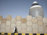 5-Star Boji Al-Fateh Hotel, or Libyan Hotel, Khartoum, Sudan, Africa Photographic Print by Mcconnell Andrew