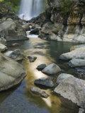 Bomod Waterfall, Banga-An, Near Sagada Town, the Cordillera Mountains, Luzon, Philippines Photographic Print by Kober Christian