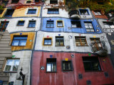Hundertwasser House, Vienna, Austria, Europe Photographic Print by Levy Yadid