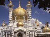Ubadiah Mosque, Kuala Kangsar, Perak, Malaysia, Southeast Asia Photographic Print by Richardson Rolf