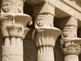 Columns of the Temple of Philae, UNESCO World Heritage Site, Nubia, Egypt, North Africa, Africa Photographic Print by Olivieri Oliviero