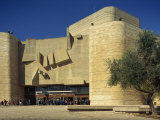Entrance to the Sherover Theatre in Jerusalem, Israel, Middle East Photographic Print by Simanor Eitan