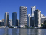 River and City Skyline in Brisbane, Queensland, Australia, Pacific Photographic Print by Mawson Mark