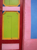 Doorway, Taquira, Boyaca Region, Columbia, South America Photographic Print by O'callaghan Jane