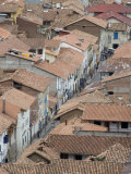 Rooftops in Cuzco, Peru, South America Photographic Print by McCoy Aaron