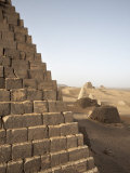 Pyramids of Meroe, Sudan's Most Popular Tourist Attraction, Bagrawiyah, Sudan, Africa Photographic Print by Mcconnell Andrew
