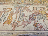 Floor Mosaic, Church of the Virgin, Madaba, Jordan, Middle East Photographic Print by Schlenker Jochen