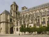 Bourges Cathedral, UNESCO World Heritage Site, Bourges, Cher, France, Europe Photographic Print by Richardson Rolf