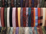 Various Fabrics on Sale at Aswan Souq, Aswan, Egypt, North Africa, Africa Photographic Print by Mcconnell Andrew