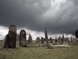 Mysterious Site of Tiya, Containing around 36 Ancient Stelae, Tiya, Ethiopia Photographic Print by Mcconnell Andrew