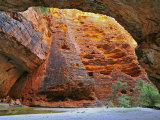 Cathedral Gorge, Bungle Bungle, Purnululu National Park, Kimberley, Western Australia, Australia Photographie par Schlenker Jochen