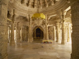 Jain Temple of Chaumukha, Built in the 14th Century, Ranakpur, Rajasthan State, India Photographic Print by Harding Robert