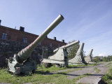 Russian 152 and 35Mm Guns, Suomenlinna Sea Fortress, Finland, Scandinavia Photographic Print by Kelly Michael