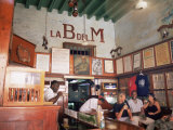 Bodegita Del Medio, One of Havana&#39;s Oldest Bars, Havana, Cuba Photographic Print by McCoy Aaron