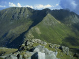 Goat Fell Range, the Big Mountains of Arran, Isle of Arran, Strathclyde, Scotland, UK Photographic Print by Maxwell Duncan
