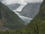 Fox Glacier, Westland, South Island, New Zealand, Pacific Photographic Print by Schlenker Jochen