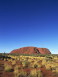 Uluru, Uluru-Kata Tjuta National Park, Northern Territory, Australia, Pacific Photographic Print by Pitamitz Sergio