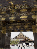 Gateway to Nijo Castle, Kyoto, Japan Photographic Print by Richardson Rolf