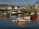 Boats Moored in West Bay Harbour, Dorset, England, United Kingdom, Europe Photographic Print by Lightfoot Jeremy