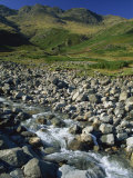Oxendale Beck Below Crinkle Crags, Lake District National Park, Cumbria, England, United Kingdom Photographic Print by Maxwell Duncan