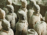 Museum of the Terracotta Warriors Opened in 1979 Near Xian City, Shaanxi Province, China Photographic Print by Kober Christian