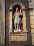 Charles I Statue, Guildhall, Worcester, England, United Kingdom, Europe Photographic Print by Hunter David