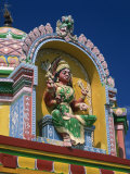 Indian Colosse Temple, Champ-Borne, Reunion Islands, Africa Photographic Print by Richardson Rolf