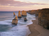 Twelve Apostles Along the Coast on the Great Ocean Road in Victoria, Australia, Pacific Photographic Print by Gavin Hellier