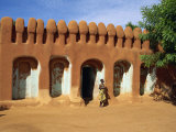 Typical Architecture, Segou, Mali, Africa Photographic Print by Pate Jenny