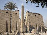 Luxor Temple, Thebes, UNESCO World Heritage Site, Egypt, North Africa, Africa Photographic Print by Mcconnell Andrew