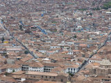 View of Cuzco from Surrounding Hills, Cuzco, Peru, South America Photographic Print by McCoy Aaron