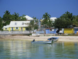 Waterfront and Beach, Dunmore Town, Harbour Island, Bahamas, West Indies, Central America Photographic Print by Lightfoot Jeremy