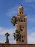 Koutoubia Minaret and Mosque, Marrakesh, Morocco, North Africa, Africa Photographic Print by Poole David