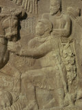 Detail from a Sassanian Relief, Bishapur, Iran, Middle East Photographic Print by Sassoon Sybil