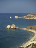 Aphrodite's Rocks, South Coast, Cyprus, Mediterranean, Europe Photographic Print by O'callaghan Jane