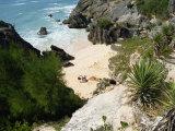 South Coast Beach, Bermuda, Atlantic Ocean, Central America Fotografisk trykk av Harding Robert