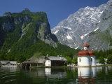 Konigsee, Bavaria, Germany, Europe Photographic Print by Richardson Rolf