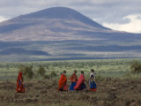 Masai, Amboseli National Park, Kenya, East Africa, Africa Photographic Print by Pitamitz Sergio