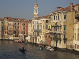 Houses on the Grand Canal in Venice, UNESCO World Heritage Site, Veneto, Italy, Europe Photographic Print by Rainford Roy