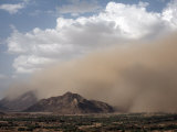 Sandstorm Near the Sudanese Border, Eritrea, Africa Photographic Print by Mcconnell Andrew