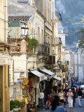 Street in Taormina, Sicily, Italy, Europe Photographic Print by Levy Yadid